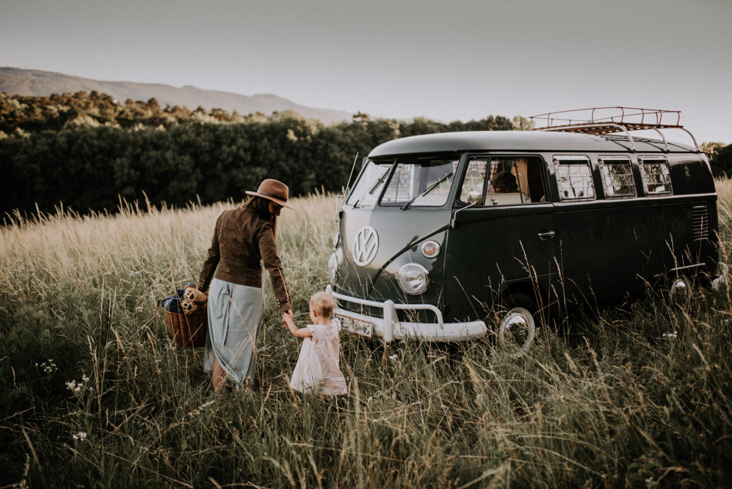 VW Bulli Fotograf bester Familienfotograf